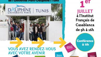 Journée d'Information Dauphine-Tunis à Casablanca