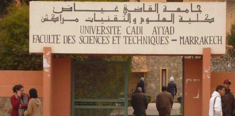 FST Marrakech Faculté des Sciences et Techniques