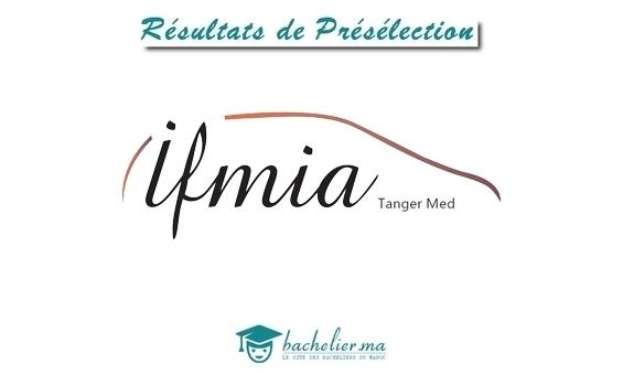 Présélection IFMIA Tanger 2018