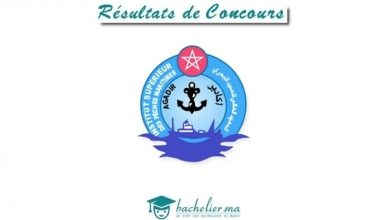 Résultats Concours ISPM Agadir 2018