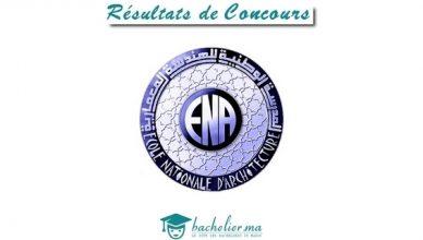 Résultats Définitifs Concours ENA 2018