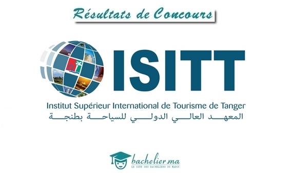 Résultats Définitifs Concours ISITT 2018
