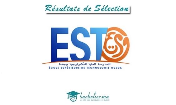 Résultats de Sélection EST Oujda 2018