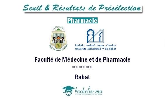seuil-présélection-pharmacie-rabat-2018